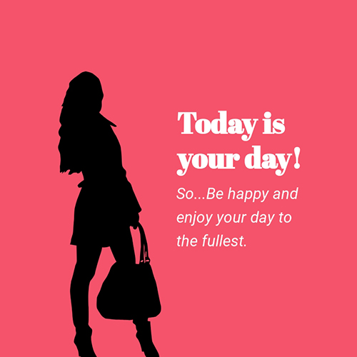 Today is Your Day Blog Graphic Medium Template