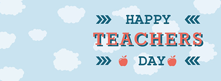 Happy Teachers Day Facebook Cover Template