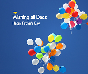Wishing All Dads Facebook Post Template