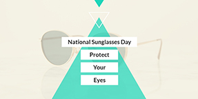 National Sunglasses Day Twitter Post Template