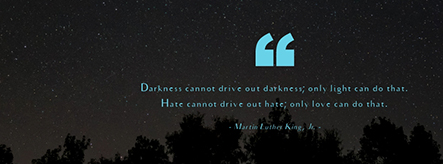 Martin Luther King, Jr Quote Facebook Cover Template