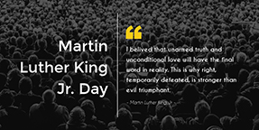 Martin Luther King Jr Day Twitter Post Template