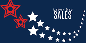 Labor Day Sales Twitter Post Template