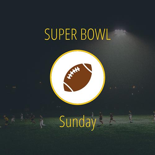 Super Bowl Sunday Blog Graphic Medium Template