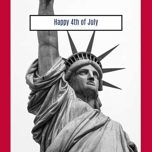 Statue of Liberty Blog Graphic Medium Template