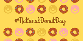 National Donut Day Twitter Post Template