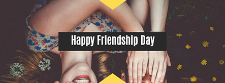 Happy Friendship Day Facebook Cover Template