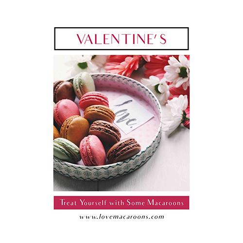 Valentines Macaroons Template