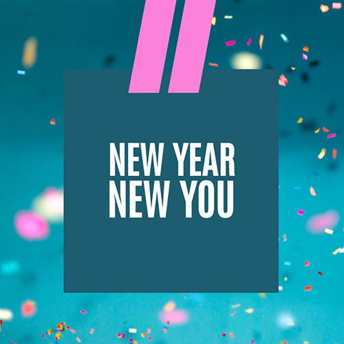 New Year New You Blog Graphic Medium Template