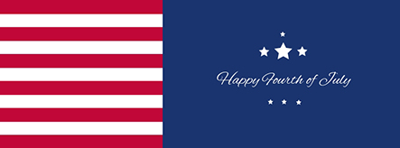 Happy Fourth of July Facebook Cover Template