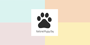 National Puppy Day Twitter Post Template