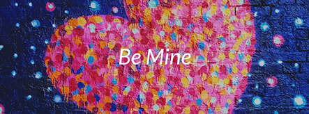 Be Mine Facebook Cover Template