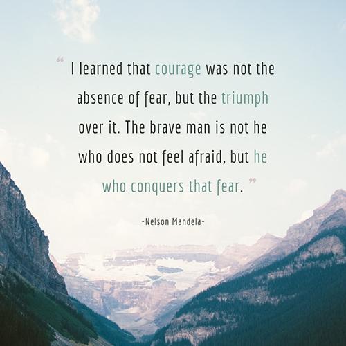 Nelson Mandela Quote Template
