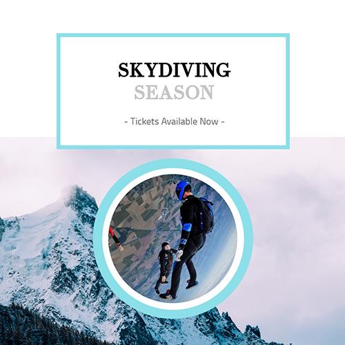 Skydiving Template