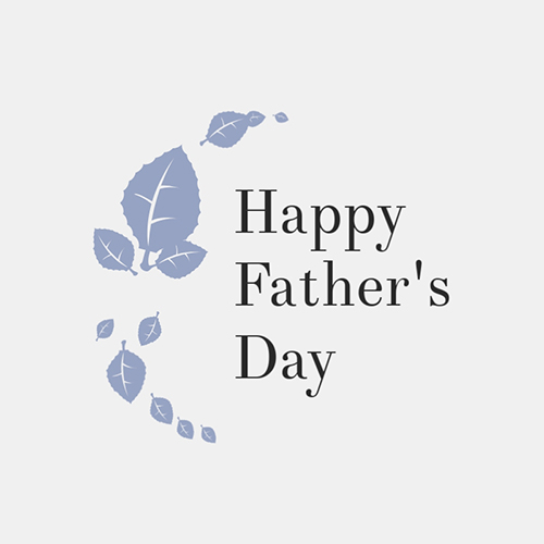 Happy Father's Day Blog Graphic Medium Template