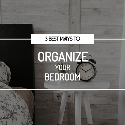 Organize Your Bedroom Template