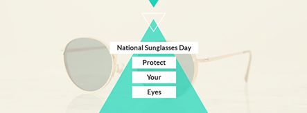 National Sunglasses Day Facebook Cover Template