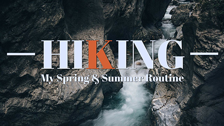 Hiking Template