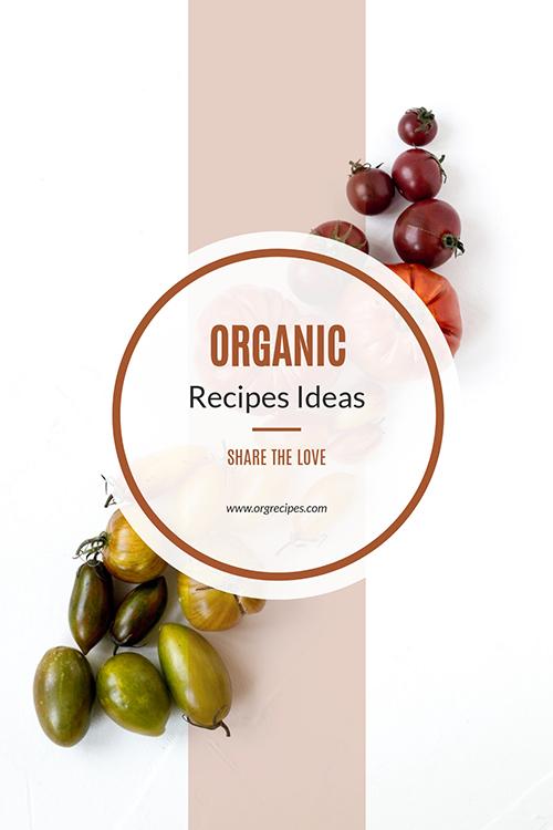 Organic Recipes Template
