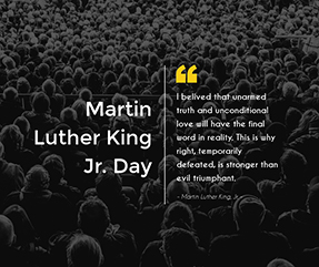 Martin Luther King Jr Day Facebook Post Template