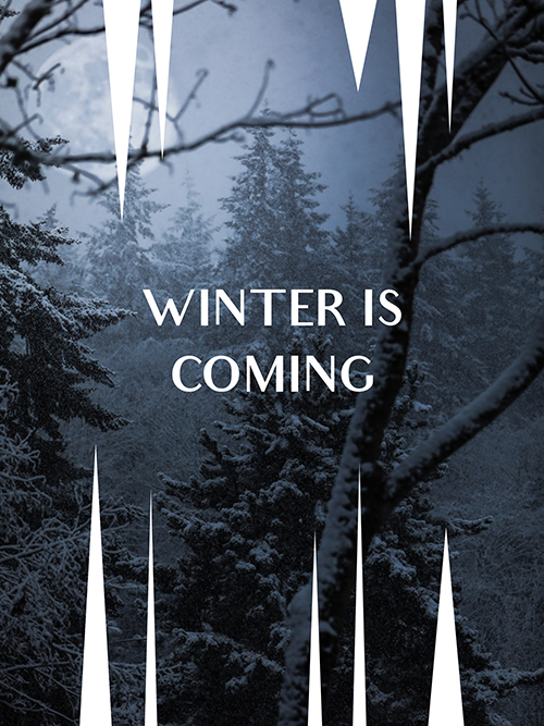 Winter is Coming Template