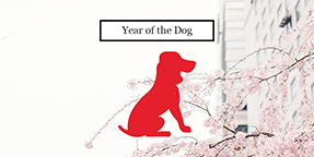 Year of the Dog Twitter Post Template