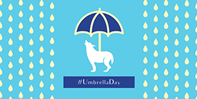 Umbrella Day Twitter Post Template