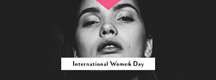 International Women's Day W Facebook Cover Template