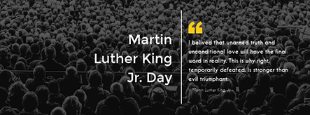 Martin Luther King Jr Day Facebook Cover Template