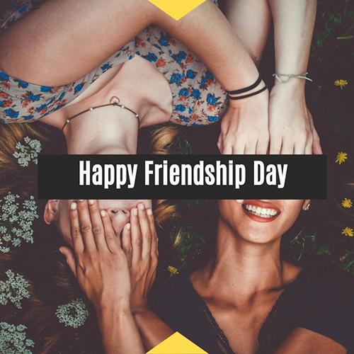 Happy Friendship Day Blog Graphic Medium Template