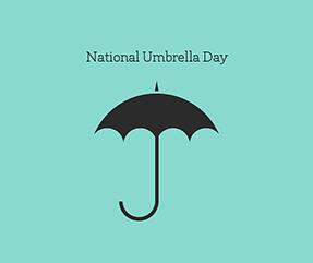 National Umbrella Day Facebook Post Template