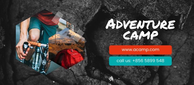 Adventure Camp Facebook Page Template