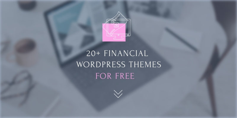 20 Financial Themes for Free Blog Graphic Header Template