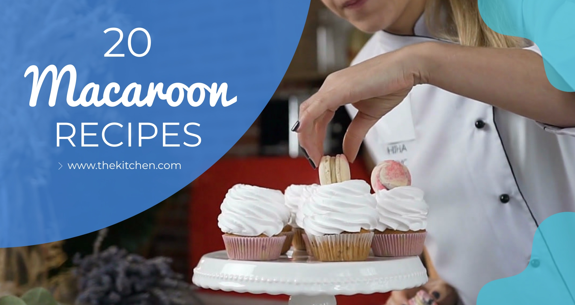 20 Macaroon Recipes Intro - Video Template