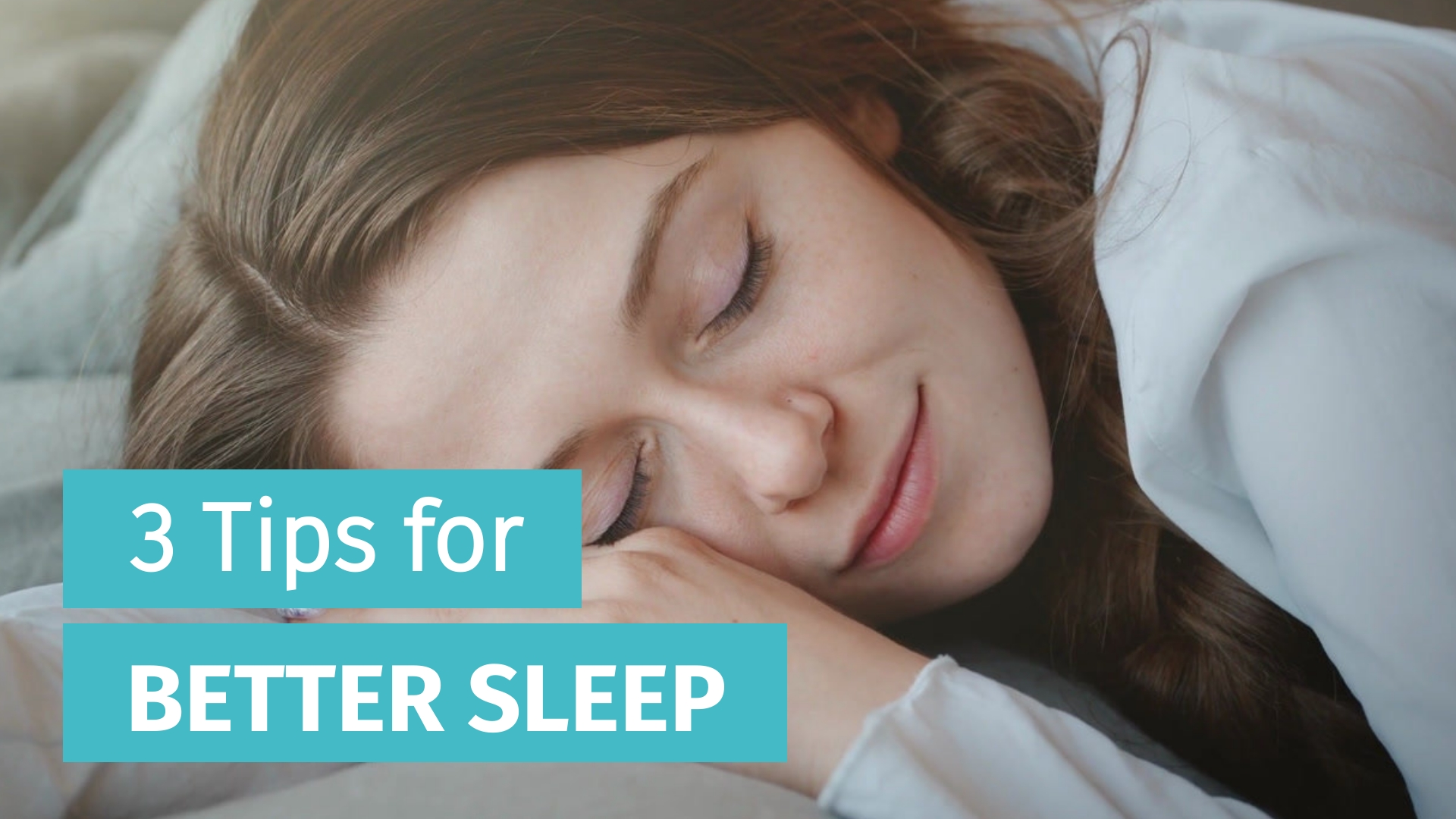 3 Tips for Better Sleep - Listicle Video Template