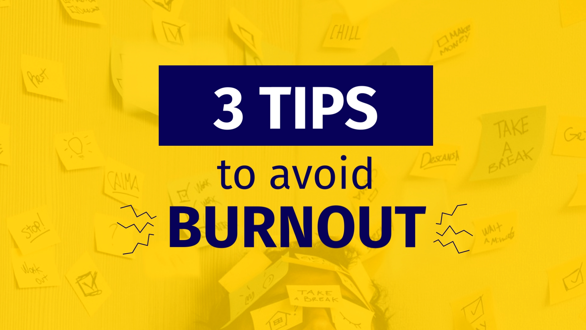 3 Tips to Avoid Burnout - Listicle Video Template