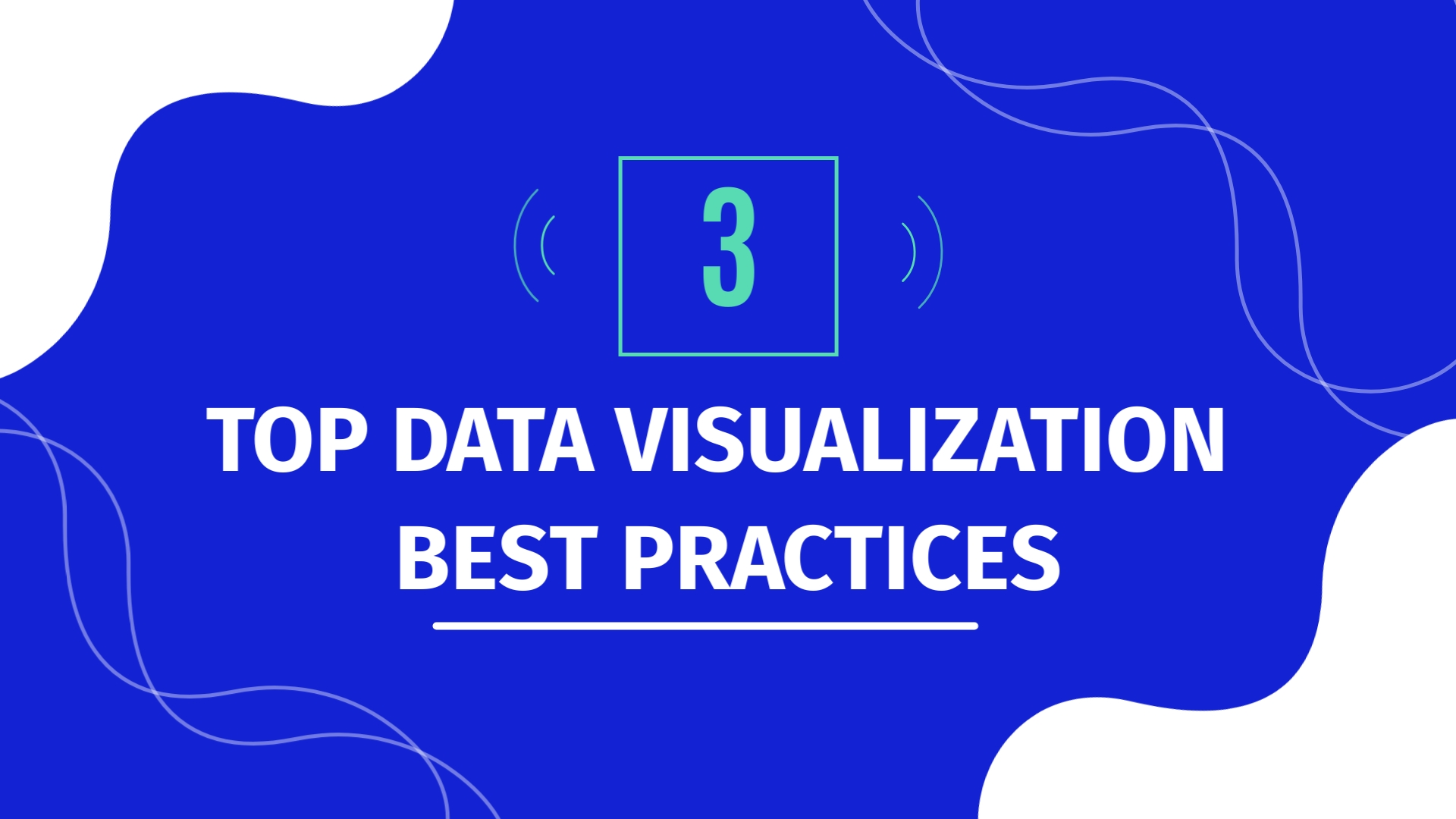 3 Top Data Visualization Best Practices - Listicle Video Template
