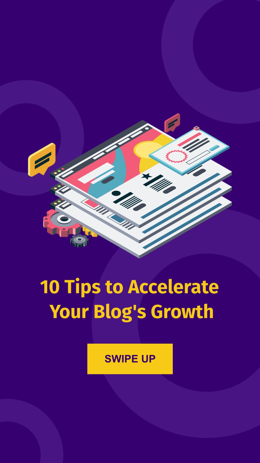 Accelerate Blog Growth Vertical Template
