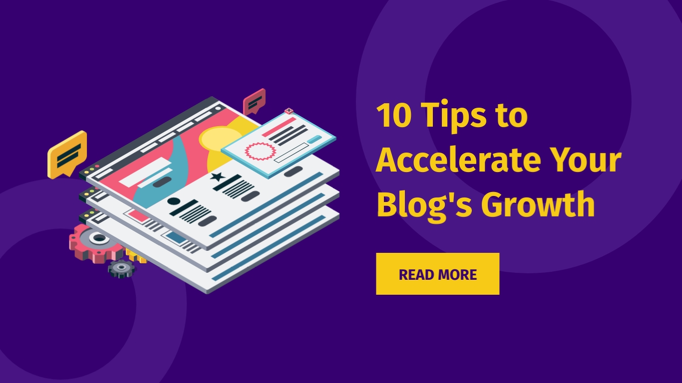 Accelerate Blog Growth Wide Template