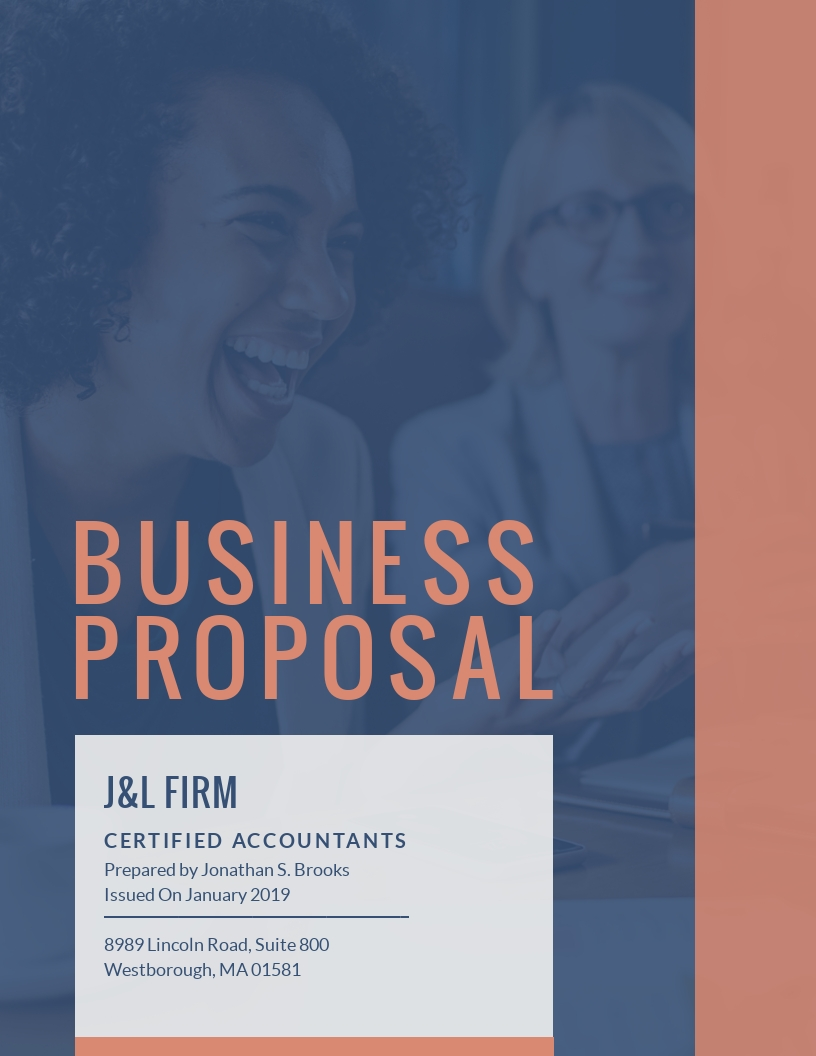 Accounting Business - Proposal Template