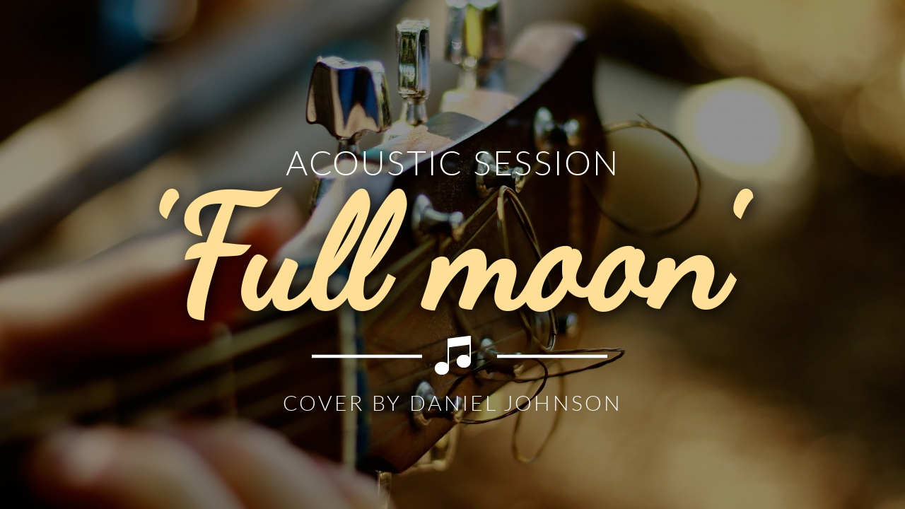 Acoustic Session Youtube Video Cover Template