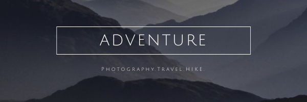 Adventure Travel Photography Hike Email Header Template