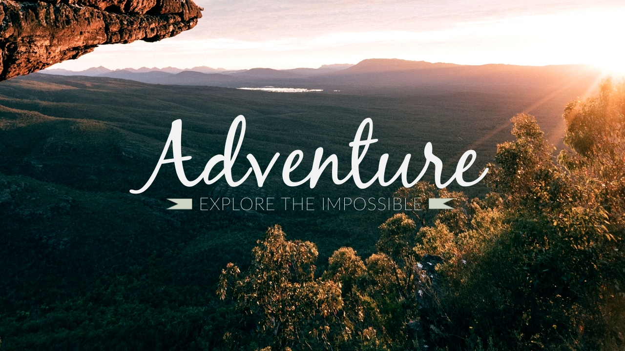 Adventure Youtube Video Cover Template