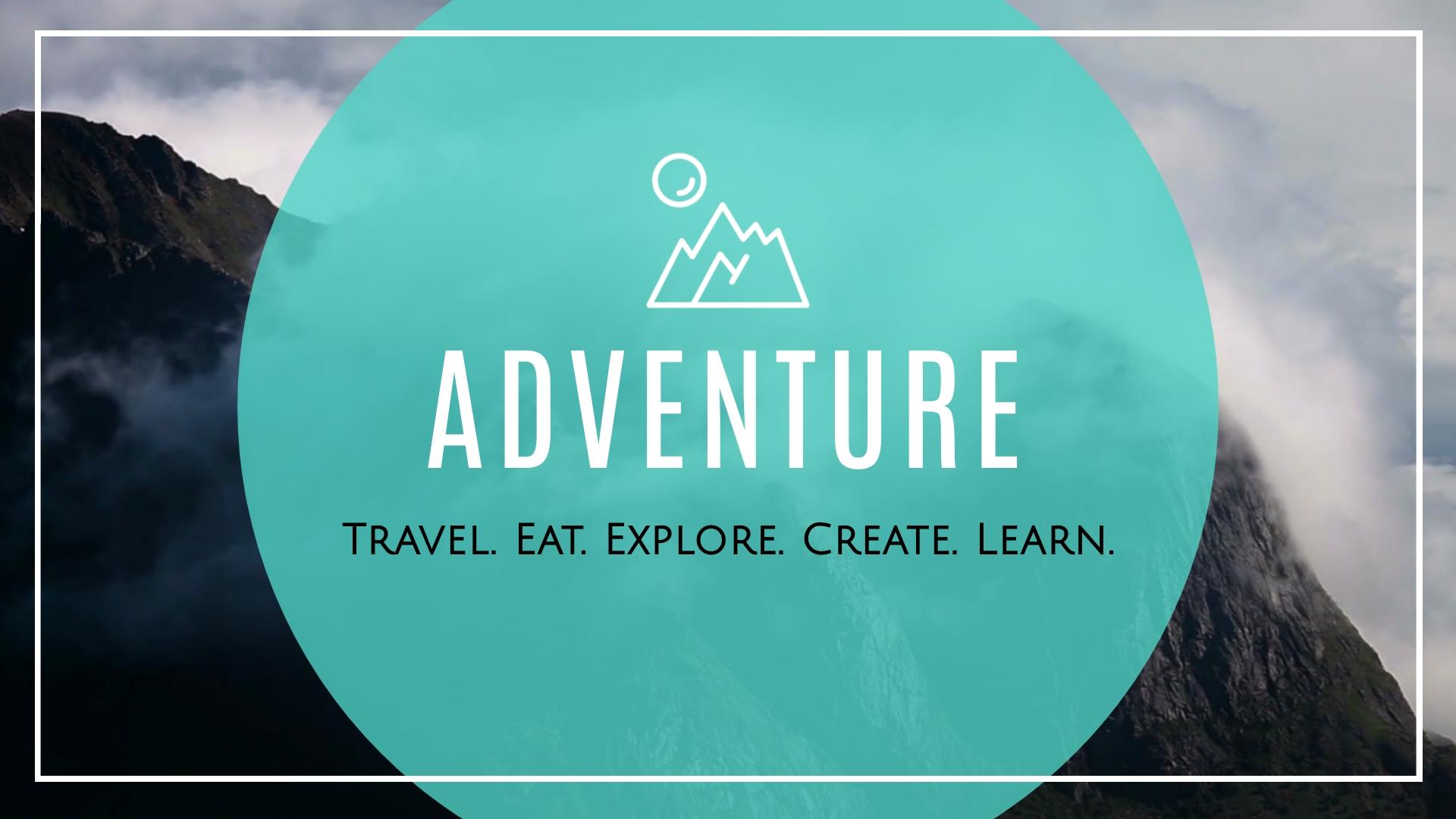 Adventure and Explore Intro - Video Template