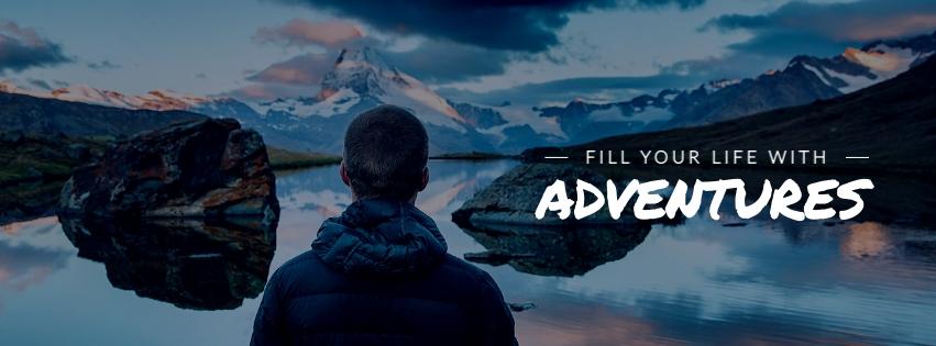 Adventures Facebook Cover  Template