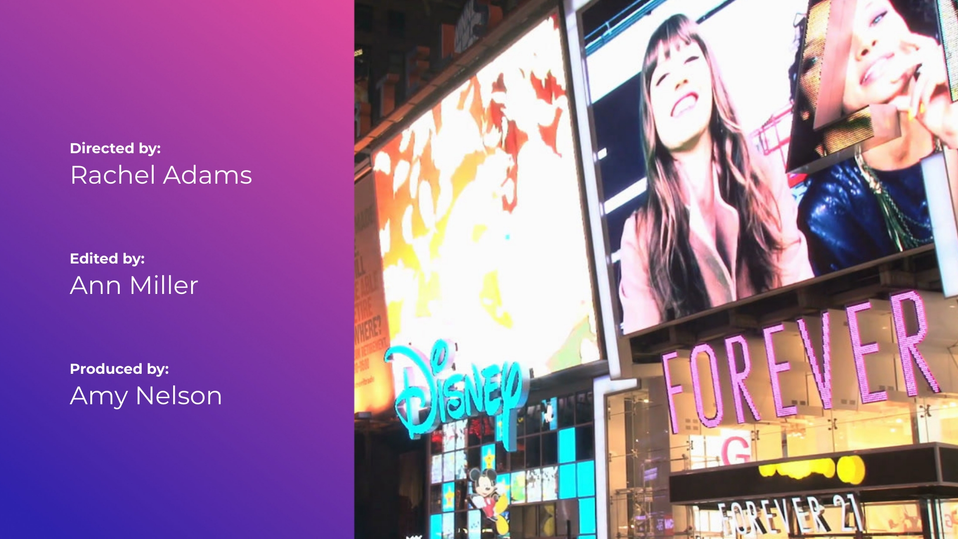 Advertising - Credits Video Template