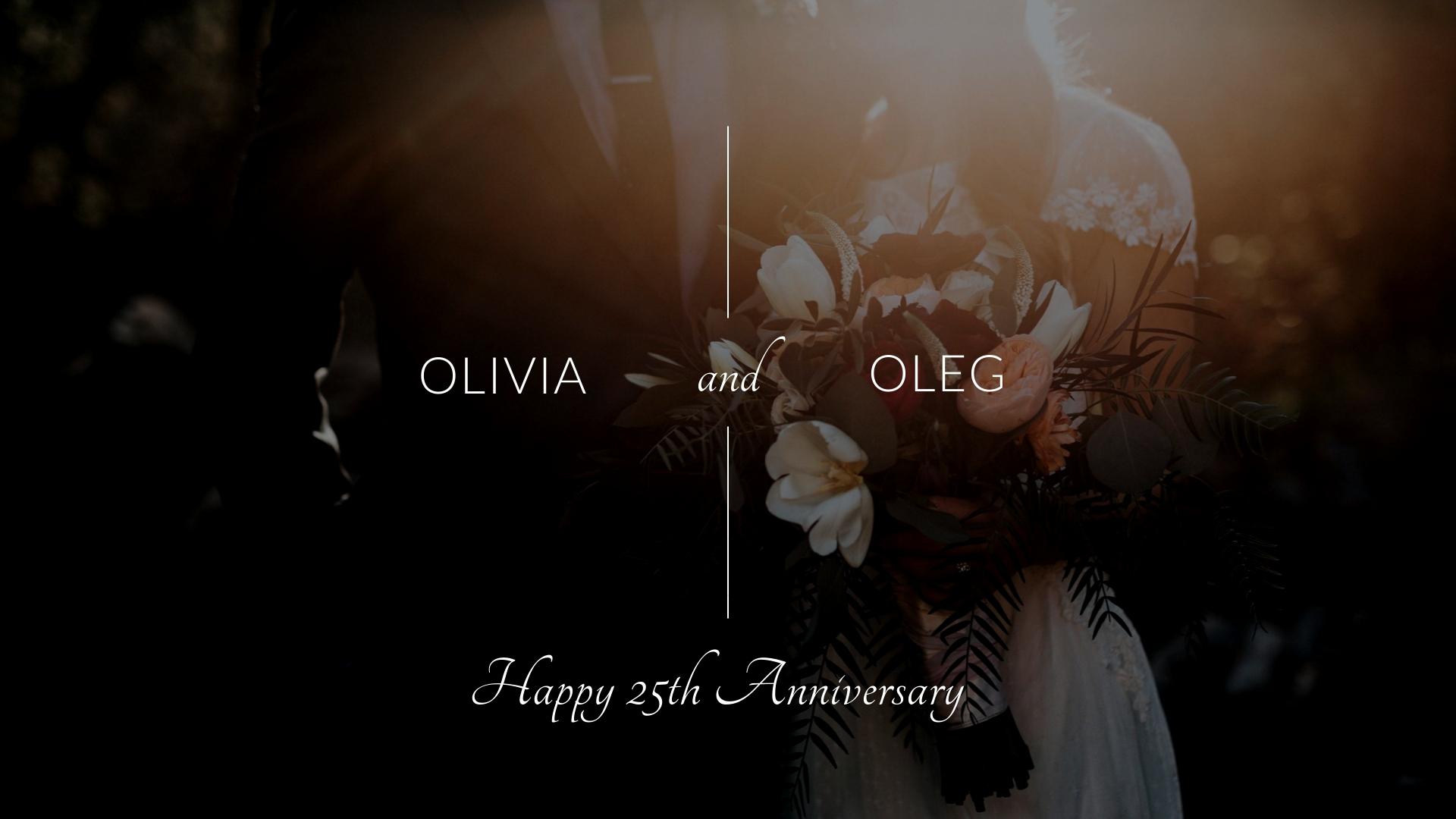 Anniversary - Photo Video Template