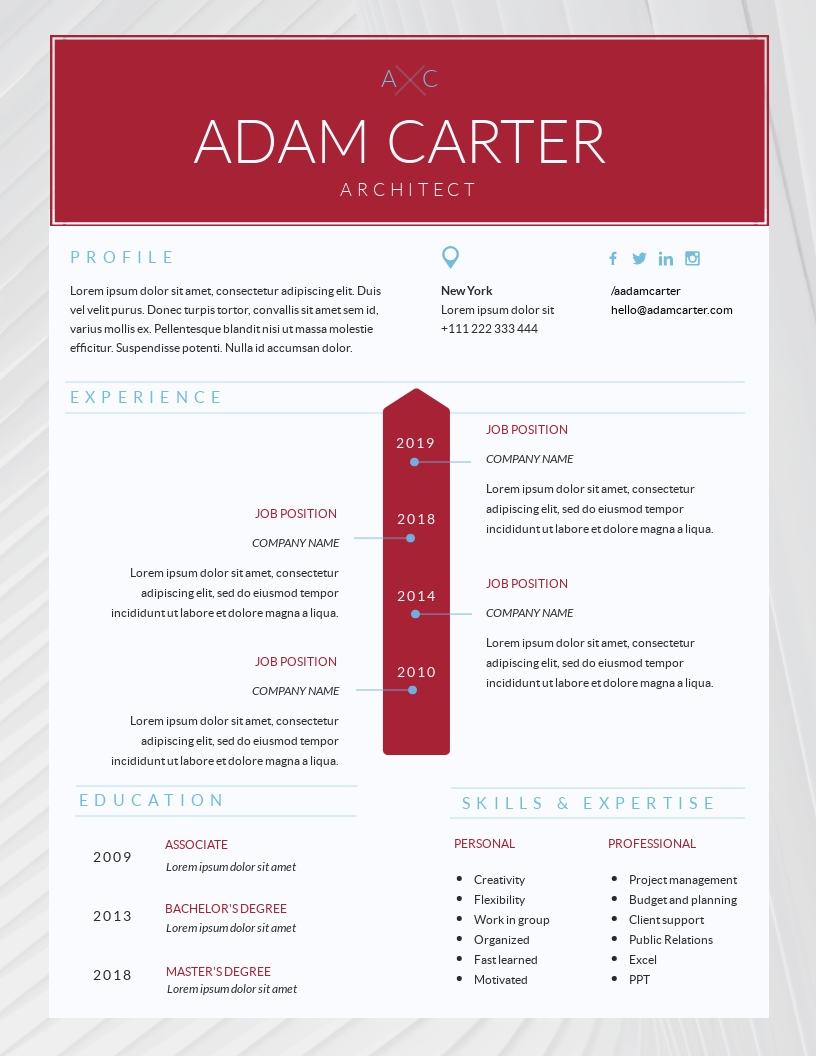 Architect Manager Template