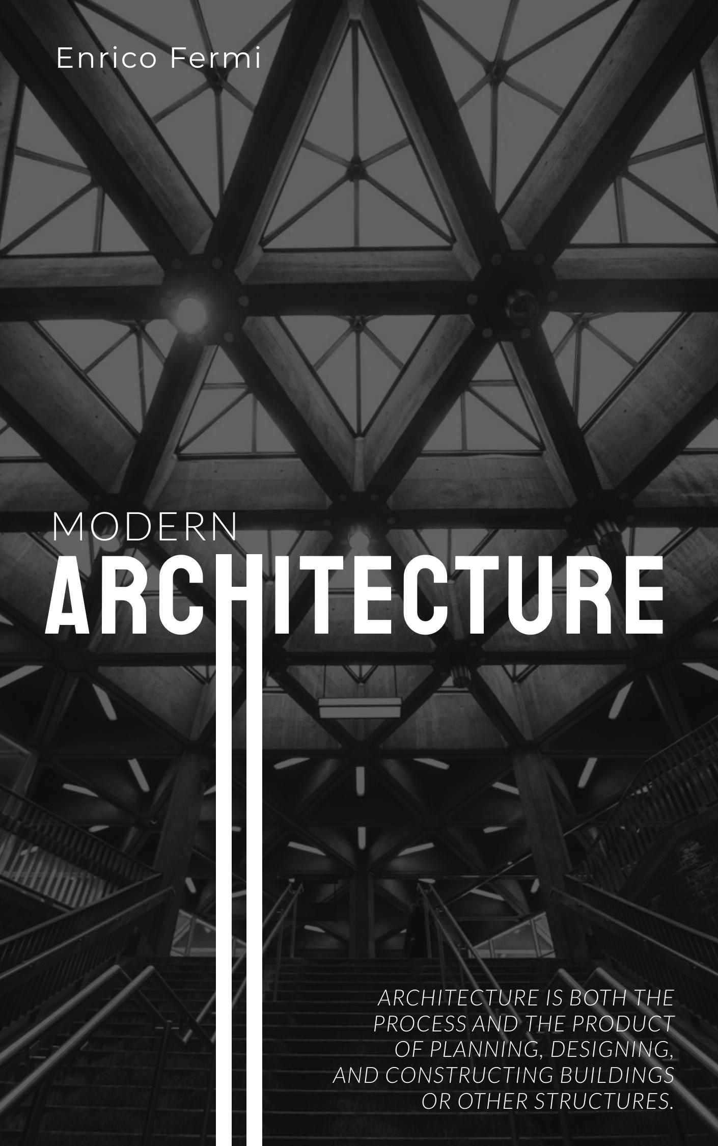 Architecture - Book Cover Template