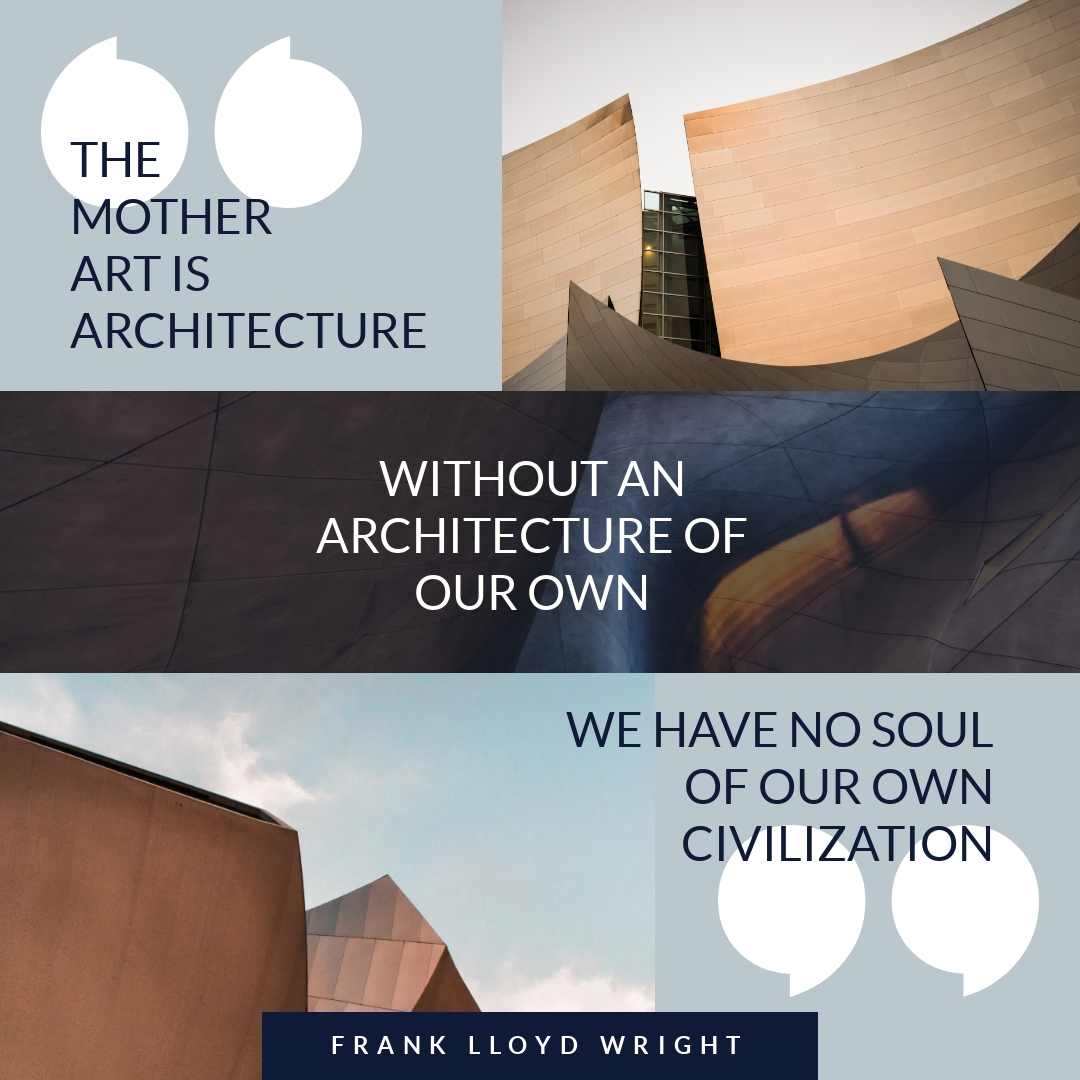 Architecture Collage - Instagram Post Template